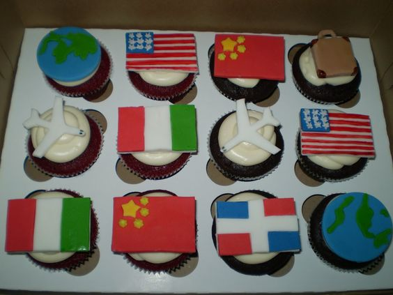 travel theme party | Divine Cakes by Janice: Trip Around The World Theme