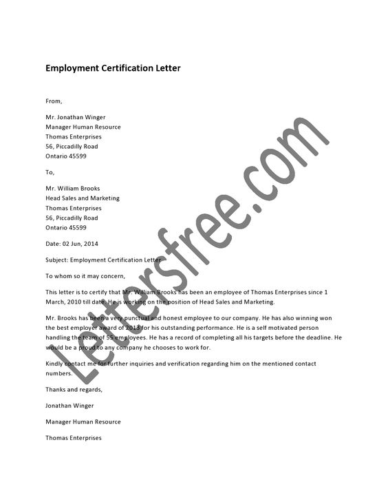 Sample Certification Letter on Pinterest | Letters, A Letter ...
