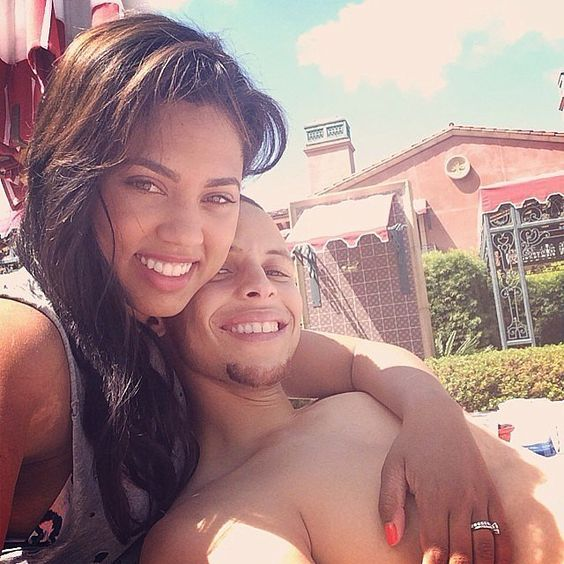 steph and ayesha curry are the cutest couple in the nba