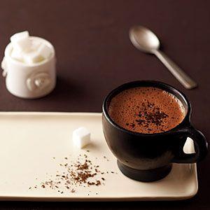 Intense Hot Chocolate.