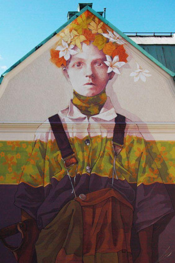 Borås 'No Limit' 2015: Graffiti Tags, Murals, Greco-Roman Antiquities
