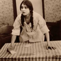 Evelyn Preer in a scene from Oscar Micheaux's The Homesteader: