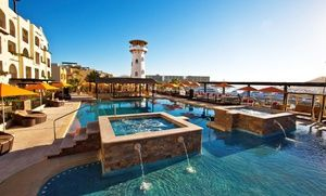 Groupon - 3-, 4-, or 5-Night Stay for Two at Wyndham Cabo San Lucas by Tesoro Resorts in Mexico. Combine Up to 15 Nights. in Cabo San Lucas, Mexico. Groupon deal price: $209