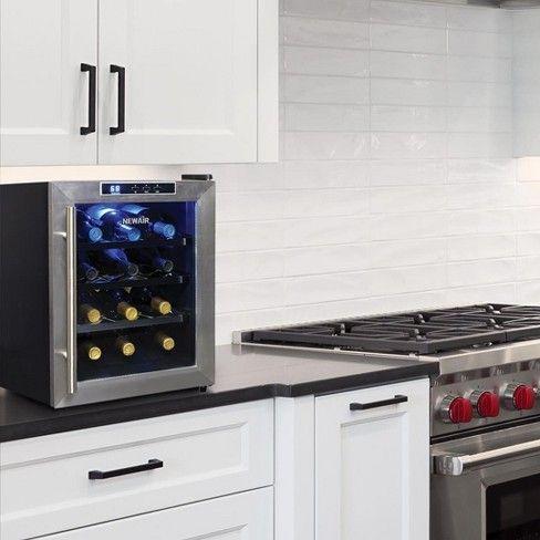Newair 12 Bottle Countertop Thermoelectric Wine Target Replacing Kitchen Countertops Diy Kitchen Countertops Kitchen Countertops