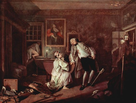 Hogarth Marriage A La Mode William Hogarth National Gallery Mode