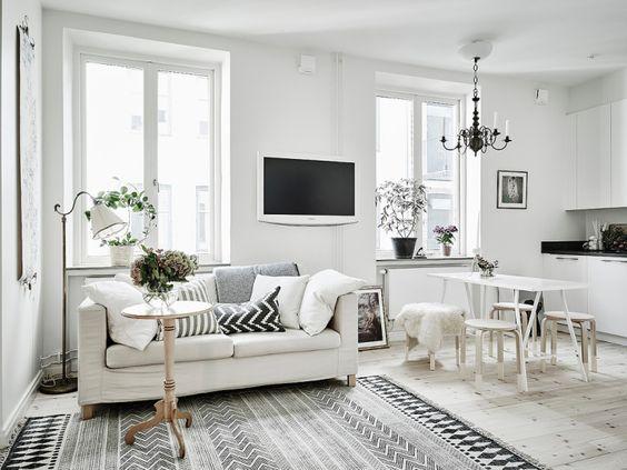 Post: Cómo crear un hogar perfecto en 35 m² --> blog decoración low cost, blog interiores, Cómo crear un hogar perfecto, decoración distribución piso pequeño, decoración minipiso, estilo nórdico escandinavo, estudio, decoración, interiors, studio: