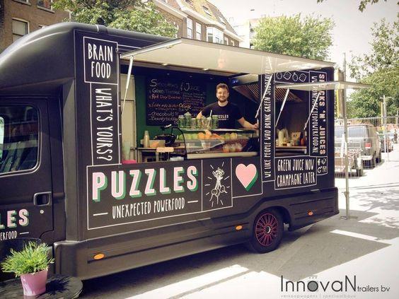 Love the branding on this food van
