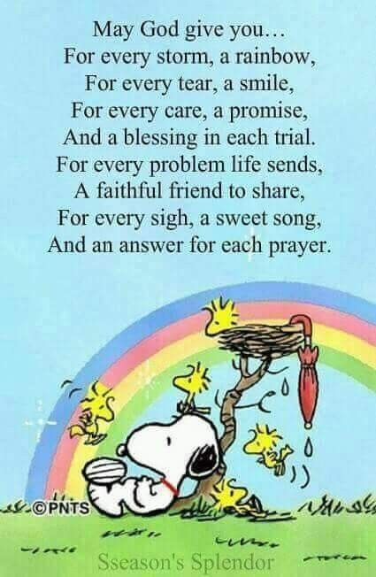 Snoopy And Woodstockes Ist Ein Sehr Schöne Bitte An Gott
