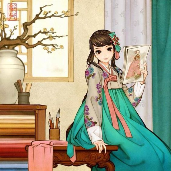 Towers Of Channelside Floor Plans: Anime Traditional Clothes Anime Hanbok Korean Traditional