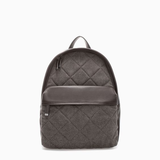 Image 1 of QUILTED RUCKSACK from Zara | BAGS | Pinterest | Zara : quilted rucksack zara - Adamdwight.com