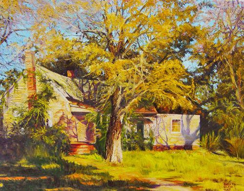 Paintings in Light and painting locations in Georgia by Southern Artist, Karla Gilson Hunt