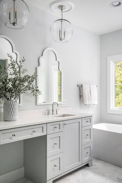 30 Cool Bathroom Lighting Ideas 2020 For Your Stylish Bathroom Dovenda Bathroom Remodel Cost Stylish Bathroom Elegant Bathroom