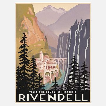 Visit Historic Rivendell, $27, now featured on Fab.