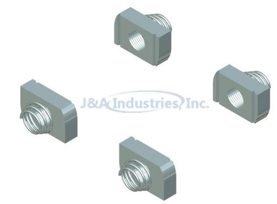 1 2 13 Spring Nut For Enclosure Set Of 4 Bolts And Washers Settings Spring