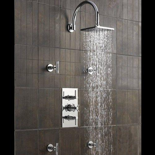 Shower valve, Shower faucet and Body spray on Pinterest