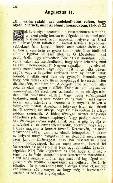 08.11 Spurgeon: Harmatgyöngyök