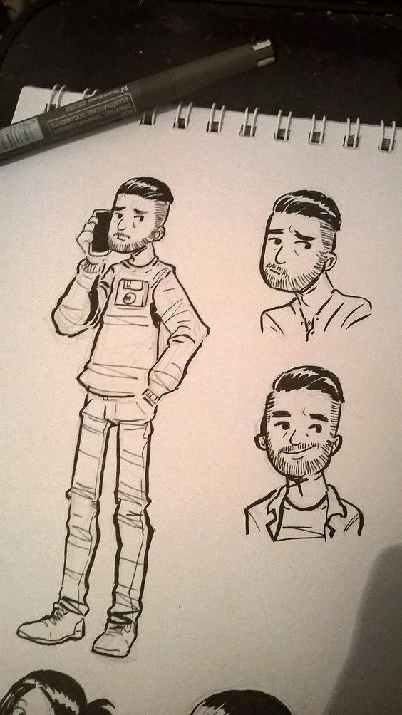 Diseño de Personajes #Sketcheando