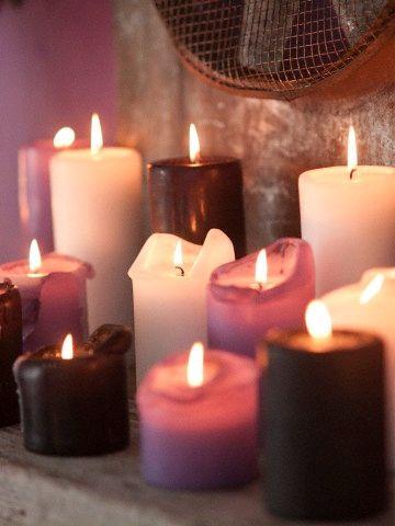 Kerzen sind für uns im Herbst unverzichtbar!: