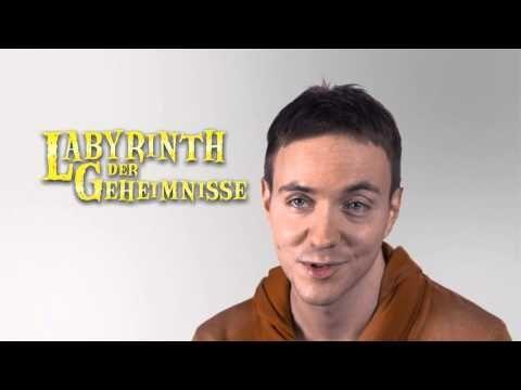 """Matthias von Bornstädt spricht in einem neuen LiteraturfilmExpress über seine Abenteuerreihe """"Labyrinth der Geheimnisse"""", die im Ravensburger Buchverlag erscheint."""