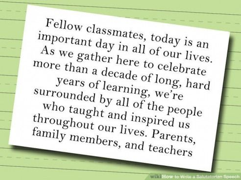 Image Result For 5th Grade Graduation Speeches By Students
