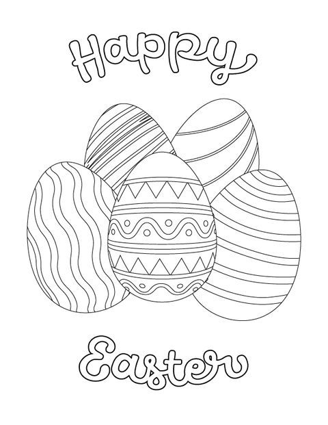 Keep Your Kids Busy With These Creative Easter Coloring Pages Easter Coloring Sheets Bunny Coloring Pages Easter Coloring Pages