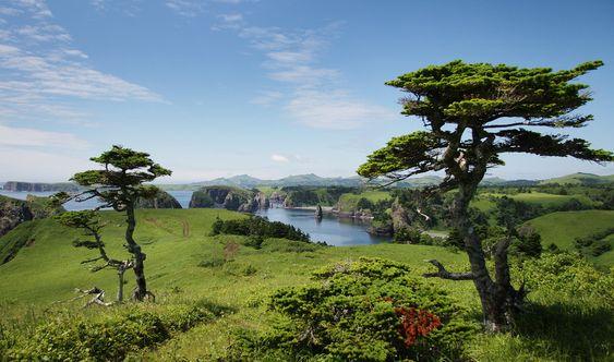 Shikotan islands of the Kuril Islands, Russia.