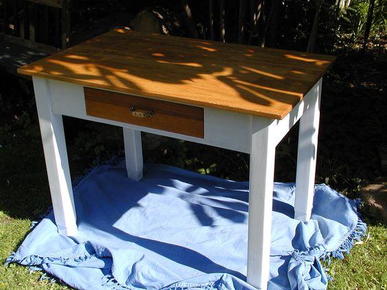 Esstische - Shabby Chic Tisch - ein Designerstück von Holz-Spiel-Troedel bei…