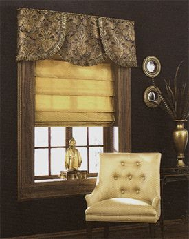 style of the valance is nice