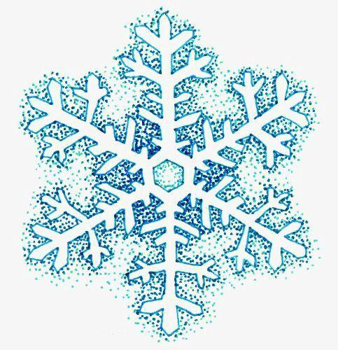 Floco De Neve Dos Desenhos Animados Tatuagem De Floco De Neve