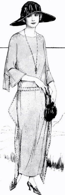 1920er Jahre Vintage Butterick Nhen Muster 1385