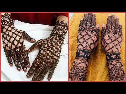 mehndi design 2021 back hand stylish
