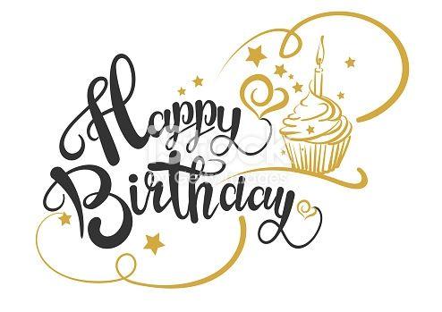 Happy Birthday Card Happy Birthday Text Happy Birthday Drawing