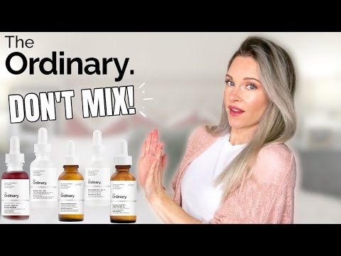 The Ordinary Products You Should Not Mix Youtube In 2020 The Ordinary Products The Ordinary Skincare The Ordinary Hyperpigmentation