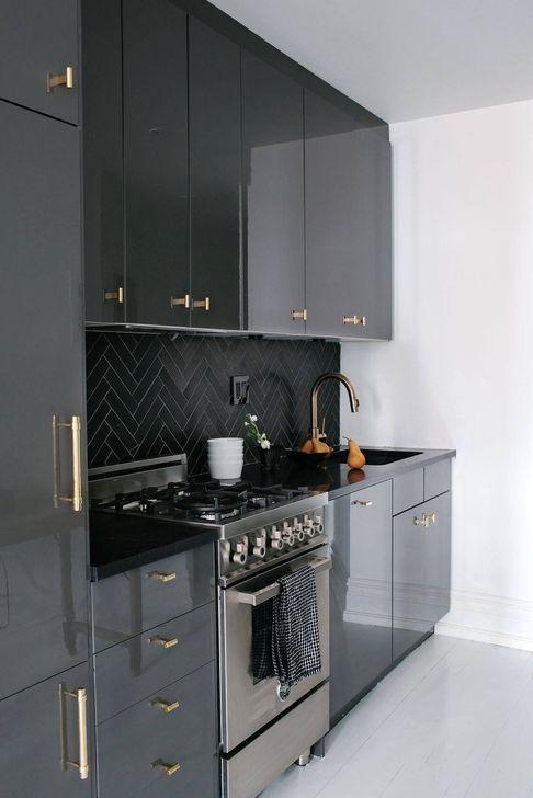 101 Fabulous Dark Grey Themes For Kitchen Design Ideas In 2020