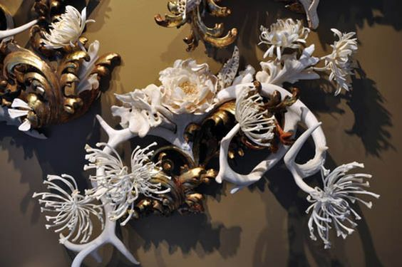 From death and decay, Jennifer creates pieces that are stunningly beautiful.  http://www.viralnova.com/jennifer-trask-bone-sculptures/