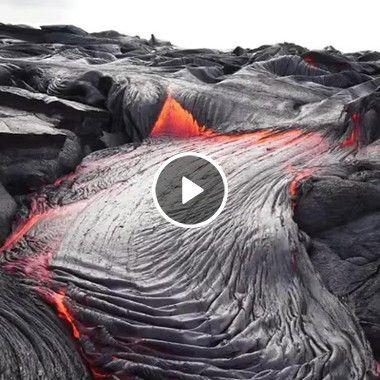 olha o vulcao que lindo