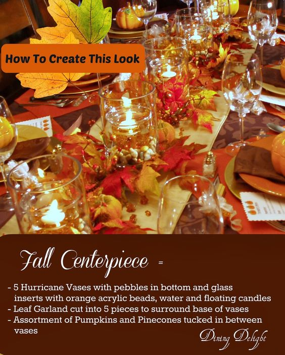 This past weekend, we invited 4 other couplesand hosted a fall dinner party for 10.       Outside, it was a miserable, rainy eveni...