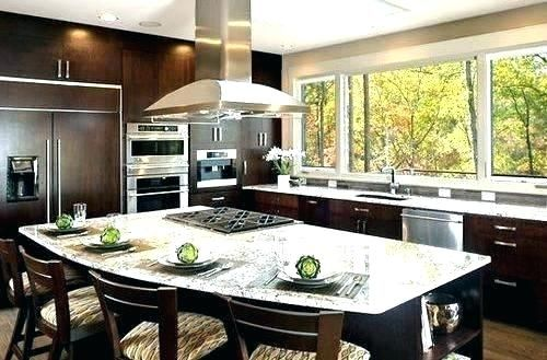 Island Gas Cooktop Kitchen Island With And Seating Island Gas Stove Wonderful Kitchen Island With Sto Curved Kitchen Island Round Kitchen Island Curved Kitchen