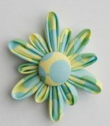 Tutorial A Fabric Flower brooch - Gone To Earth