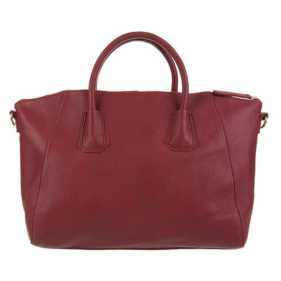 Double Oak Mills Weekender Tote Bag (€14) ❤ liked on Polyvore featuring bags, handbags, tote bags, wine, wine tote, faux leather tote bag, man bag, weekender tote and handbags totes