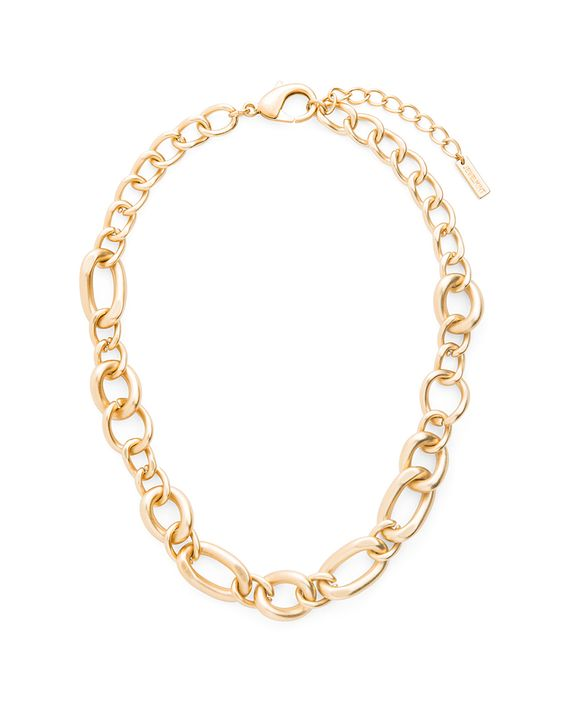 chunky chain necklace <3