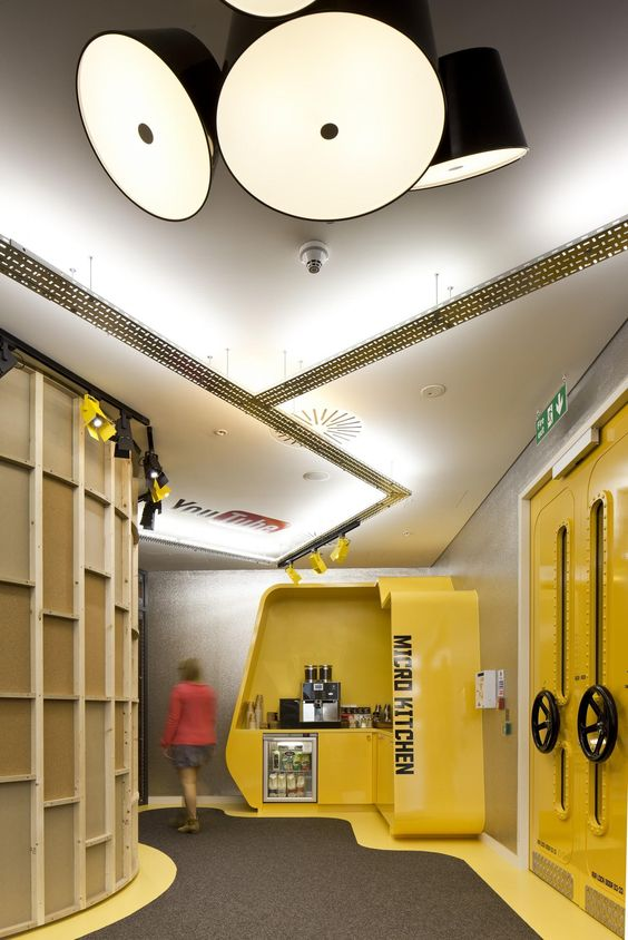 YouTube's London office by Penson