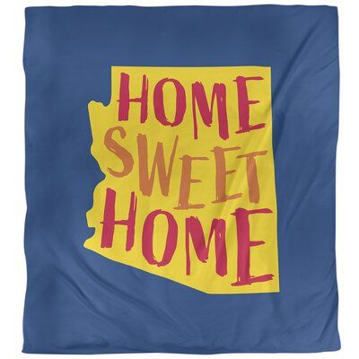 East Urban Home Home Sweet Arizona Single Duvet Cover In 2020 Single Duvet Cover Duvet Covers Single Duvet
