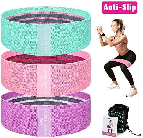 Fabric Resistance Workout Exercise Booty Bands Wide Hip Legs Non Slip Fitness