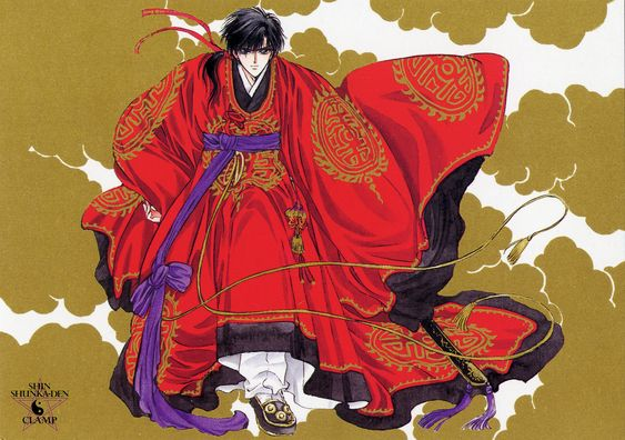 Tags: CLAMP, Scan, Legend of Chun Hyang, CLAMP North Side, Official Art, Mong Ryong