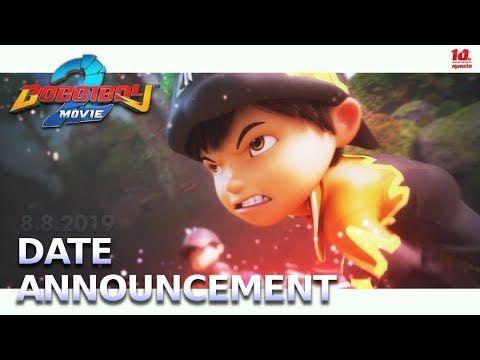 Boboiboy Movie 2 Date Announcement Bioskop Lirik Lagu