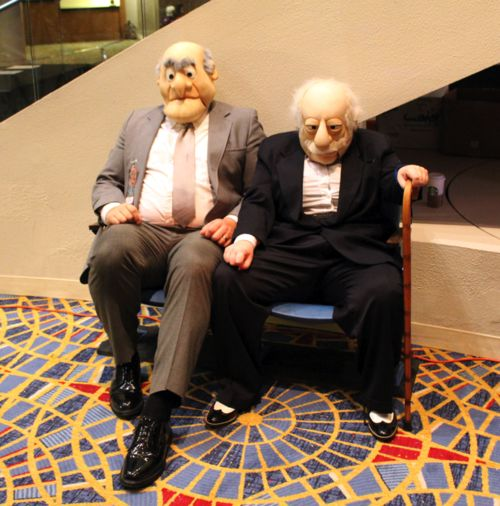 50 Best Statler And Waldorf Images On Pinterest: The Muppets, Costumes And The Balcony On Pinterest