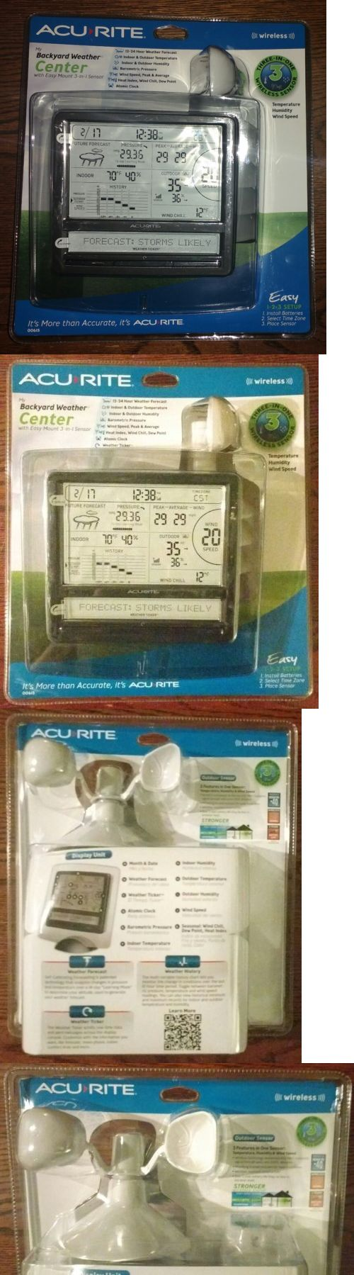 weather meters acurite 00615 wireless weather forecast station