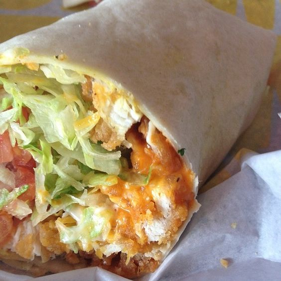 Buffalo Chicken Wrap @ Buffalo Wild Wings Grill & Bar