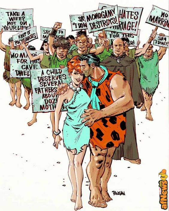 I Flintstone e il matrimonio gay, anzi, il matrimonio in generale! - http://www.afnews.info/wordpress/2016/10/06/i-flintstone-e-il-matrimonio-gay-anzi-il-matrimonio-in-generale/
